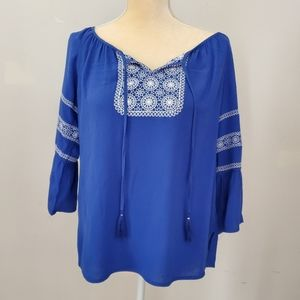 Small Petite Ruby Rd Womens Blouse